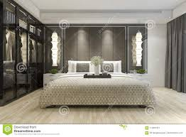 modern bedroom with tv. Brilliant Modern 3d Rendering Interior And Exterior Design To Modern Bedroom With Tv L