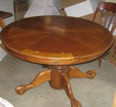 round dining room table with leaf. Round Dining Room Table With Leaf Leaves 48 Inch Oak