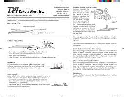 Light Up Floor Mat Da Fms 1000 Dakota Alert 1000 Wireless Floor Mat Manualzz Com