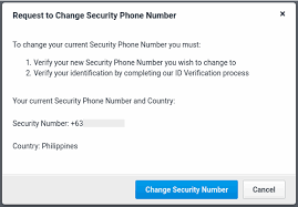 How To Change Your Phone Number Changing My Security Phone Number Profile Freelancer Support
