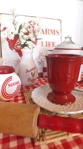 Red Kitchen 17 Best Images About Vintage Red Kitchen On Pinterest Kitchen