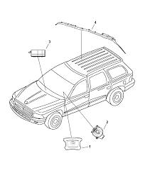 2005 dodge durango air bags clock spring diagram 00i93252