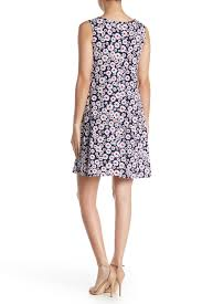 Msk Dresses Size Chart Msk Sleeveless 3 Ring Dress Hautelook
