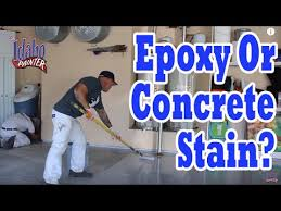 stained concrete garage floor. Contemporary Concrete CONCRETE STAIN OR EPOXY For Garage Floors Best Product Concrete Floors Inside Stained Concrete Floor L