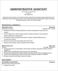 objective for administrative assistant resume objective administrative assistant helpful photo best