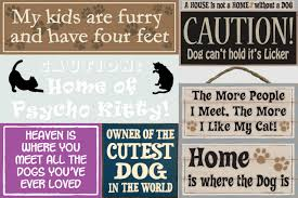 cute dog sayings signs