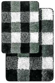 black bathroom rugs black om rug set and white bath mat modern gray black and white black bathroom rugs