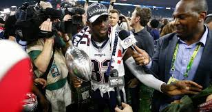 new england patriots free safety devin mccourty holds the vince lombardi trophy mccourty has said