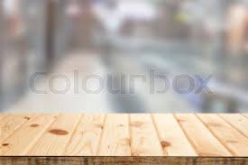 countertop background. Perfect Countertop Background Image Wooden Countertop On Blurred Background The Interior Of  Mall Can Be Used For Display Or Installation Your Products  Stock Photo  To Countertop
