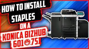 ℹ️ download konica minolta bizhub 601 manuals (total manuals: How To Install Staples On Konica Minolta Bizhub 601 751 Youtube