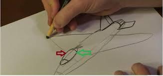شرح تعليم رسم الطائرات الحربية بطريقة سهلة