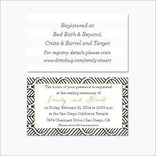 Wedding Invitation Insert Templates Elegant Wedding Invites With