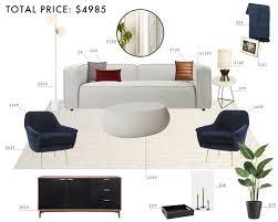 modern room italian living. Budget Design Rooms: Italian Modern Living Room I