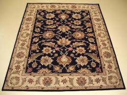 8 x black tan and area rug rugs large tufted