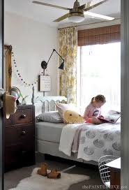 small diy vintage girl s bedroom on a budget