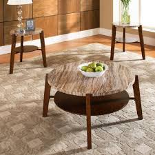 White Coffee Table And End Tables Round Coffee And End Tables Tags Round Wicker Coffee Table 3