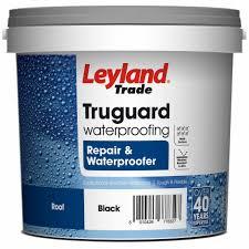 Leyland Trade Truguard Repair And Waterproofer Slate Grey 2 5 Ltr