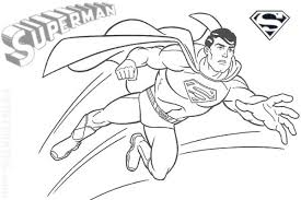 Small Picture Free Printable Superman Super Hero Flying Coloring Pages Bebo Pandco