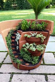 flower pot garden. Fine Pot This Dish Garden Has A Half Broken Pot That Looks Like Stares And Can Be  Used As Decoration Outside During The Warm Weather To Flower Pot Garden