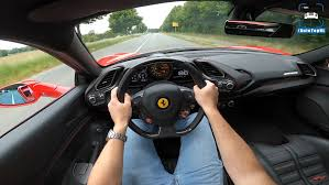 Provided with bubble like cockpit with spacious equipped with lots of high end features allowing the riders to experience with the expensive car to travel in comfort and style. Ferrari 488 Gtb Ecco Un Test Drive Di Un Esemplare Con Scarico Capristo Video Clubalfa It