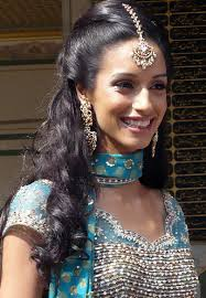 indian bridal hairstyles for short um and long hair