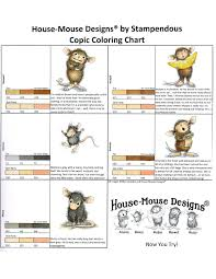 House Mouse Designs Coloring Guide