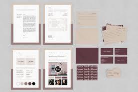 Distinctive Stationery Designs Agnes Branding Stationery Pack Including Basic Stationery