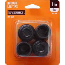 everbilt 1 in black rubber leg tips 4
