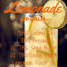 lemonade lip balm recipe bulk