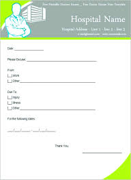 Easiest Way To Get Doctors Note 041 Printable Doctors Note For School With Blank Plus