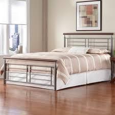 iron bed silvercherry metal contemporary design