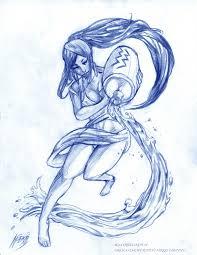 Aquarius рисование водолей татуировки и эскиз тату