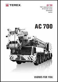Terex Demag Ac 700 Chart