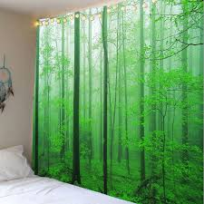 fashion forest tree decorative wall hanging tapestry