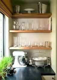 open shelving kitchen by designs block shelves butcher shelf ikea floating get the look leaning ladder block shelves popular box wall