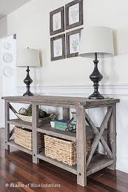 What Is A Console Table Used For Fresh 25 Best Ideas About Rustic Sofa  Tables On Pinterest