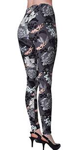 Viv Collection Size Chart Viv Collection Junior Size Printed Brushed Leggings Ageless