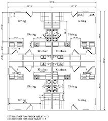 Quadplex Plans