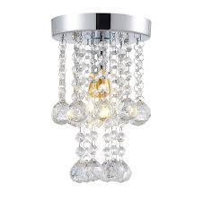 Egomall 15cm Luxus Decken Kristallleuchter Schlafzimmer