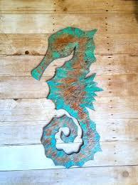 seahorses wall art wood seahorse decor beach house sign reclaimed wood wall hangings nautical decor coastal seahorses wall art  on seahorse wall art for bathroom with seahorses wall art metal sea horse wall art home design software for