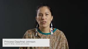 Princess Daazhraii Johnson on Vimeo