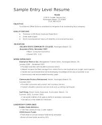 Objective For Sales Associate Resume Entry Level Retail Sales Associate Resume Client Service
