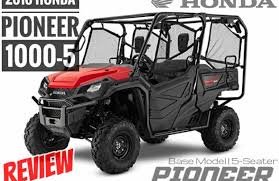 2018 honda pioneer. contemporary 2018 2018 honda pioneer 10005 review  specs u0026 changes 5seater to honda pioneer i