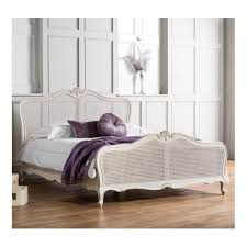 verona super king sized bed solid oak wood white