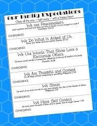 If Then Behavior Chart Printable With Scripture Pdf
