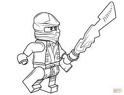 Kleurplaten Lego Ninjago
