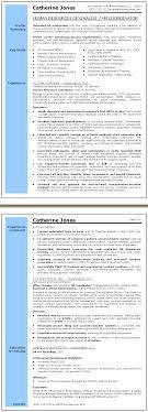 Hr Coordinator Cv Sample Human Resources Generalist Resume Sample