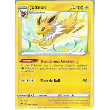 Pokemon Trading Card Game 047/185 Jolteon | Rare Card | SWSH-04 Vivid  Voltage - Trading Card Games from Hills Cards UK