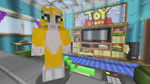 Minecraft Living Room Minecraft Xbox Toy Story 2 Living Room 2 Youtube
