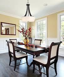 chandelier size vs dining table